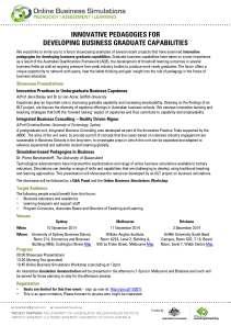 Roadshow Forum Flyer